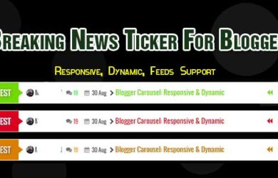 Breaking News Widget