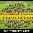 clash of clans unlimited gems apk