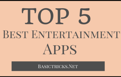 best entertainment apps