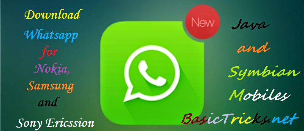 Download whatsapp for nokia and samsung, iphones and smartphones.