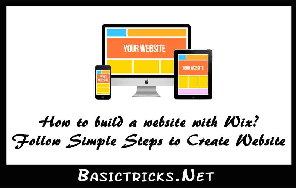 How to build a website with wix simple steps to create Build easy website