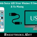 Apple Mobile Device USB Driver Windows 10 Download & Fix Missing