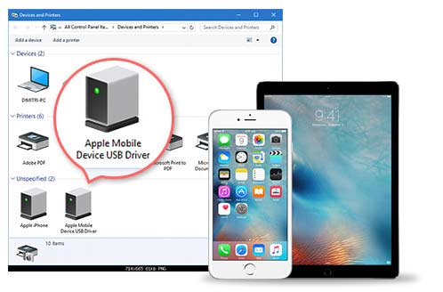 Apple Mobile Device USB Driver Windows 10 Download & Fix ...