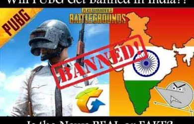 Will PUBG Get Banned in India