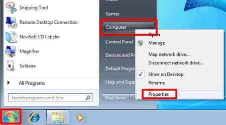 enable remote desktop windows 7