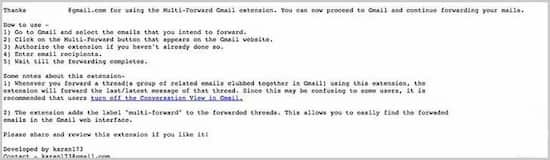 gmail-forward-multiple-email