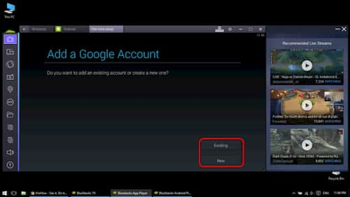 Create Gmail account without mobile