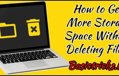 Storage Space Without Deleting Files