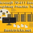 Microsoft MCSA 70-411 Practice Test Questions