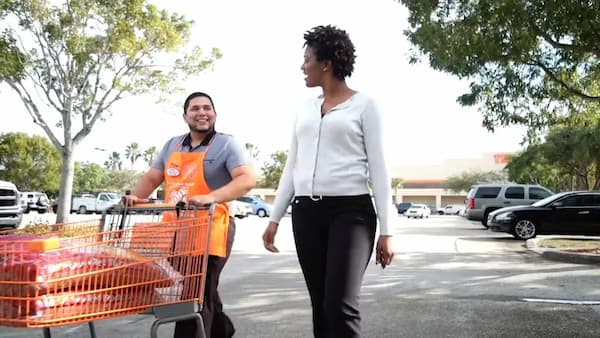 how old to work at home depot