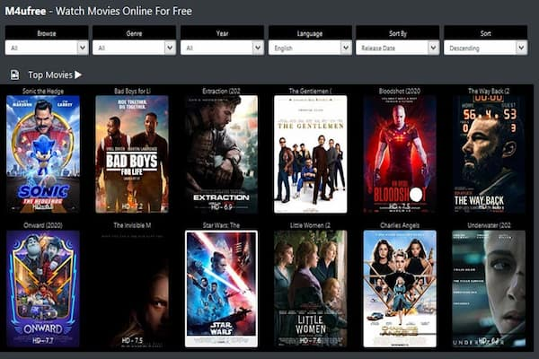 watch new releases movies for free